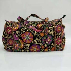 NWOT Vera Bradley large duffel Bag Suzani